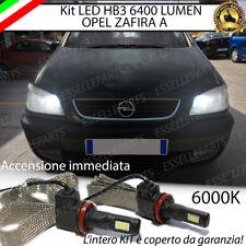 KIT FULL LED OPEL ZAFIRA A LAMPADE ABBAGLIANTI LED HB3 9006 6000K 100% NO ERROR