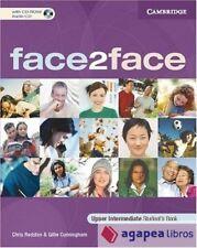 face2face. Upper Intermediate Student`s Book. With CD-ROM. NUEVO. ENVÍO URGENTE
