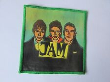 Original the JAM Legendary MOD with Band Picture 1980's Sew on Badge / Patch