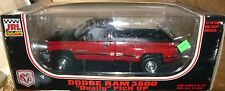 JRL Collectibles 81800 Dodge Ram Dually 3500 Pickup 1/18 RED/BLACK