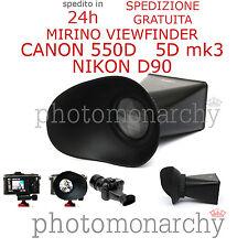 Viewfinder mirino 2.8X per display reflex LCD CANON EOS 5D mk3 mark 3 550D