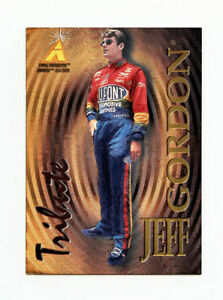 Jeff Gordon 1995 Zenith Tribute All Etched Gold Foil Insert Card 1:120 Pinnacle