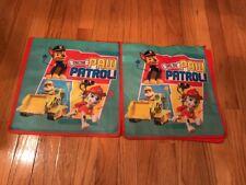 2 NEW Nickelodeon Kids Reusable Shopping Tote Bags - Paw Patrol