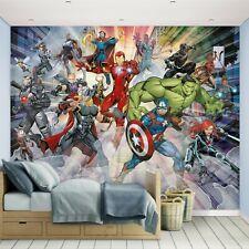Avengers 2019 Wallpaper Mural for Kids Bedrooms Walltastic