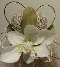 Fascinator hatinator hat races wedding skin - one off design