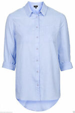 Topshop Collared Singlepack Tops & Shirts for Women