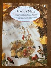 Harvest Mouse / Autumn Themed Cross Stitch Chart **from a magazine**