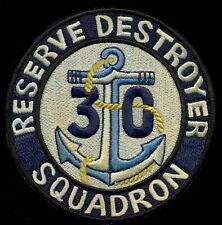 USN Reserve Destroyer Squadron 30 Patch Q-1