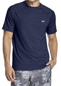 Speedo Men's UV Swim Shirt Short Sleeve Loose Fit Easy Tee XXXXL