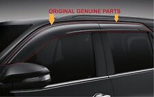 TOYOTA FORTUNER GENUINE PARTS SUN VENT WINDOW VISOR WEATHER PROTECT GUARD 15-16