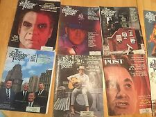 LOT(17) Saturday Evening Post Magazine 1968-1969 Bundle Stack Dylan+Kennedy+MORE