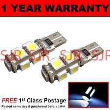 W5W T10 501 CAN BUS Xenón Sin Errores BLANCO 9 LED