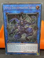Ninja Grandmaster Saizo YU-GI-OH Card SHVA-EN011 1st Edition