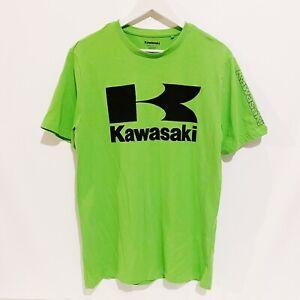 Kawasaki Motorcycle Motocross T-Shirt Mens Medium