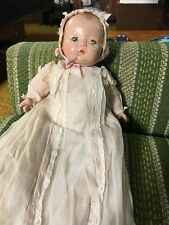 Madame Alexander Composition Baby Doll in Christening Gown