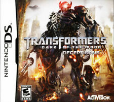 Transformers: Dark of the Moon Decepticons NDS New Nintendo DS, Nintendo DS