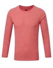 Camisas y camisetas de niño de 2 a 16 años de color principal rojo de poliéster