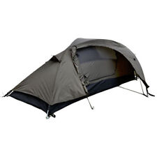 Mil-Tec 1 Person Camping Tent 'RECOM' w/ Mosquito Net Olive OD Green