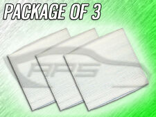 C25858 CABIN AIR FILTER FOR 2008 2009 2010 2011 2012 MAZDA CX-7 - PACKAGE OF 3