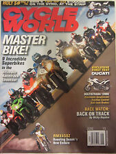 Cycle World Magazine June 2010 Master Bike! 9 incredible Superbikes Racetrack Sh