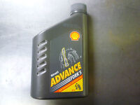 1L SHELL ADVANCE 5W FORK OIL HIGH PERFORMANCE SUSPENSION FLUID *FREE UK POST*