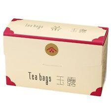 25 bags 100% Gyokuro high class Japanese Green Tea leaves Ippodo kyoto