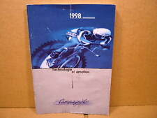 """1998 Campagnolo """"Campy"""" Catalog (6"""" x 8"""" and 57 Pages)...French Translation"""