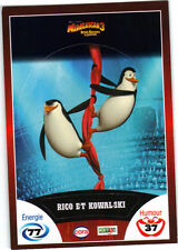 Vignette de collection autocollante CORA Madagascar 3 n° 61/90 - Rico & Kowalski
