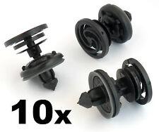 10x Audi Interior Door Card & Trim Panel Mounting / Fastener Clips