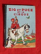 Zig et Puce et le Cirque. SAINT-OGAN 1951.