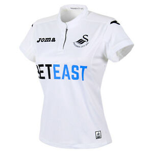 100% Official Joma Swansea City AFC Ladies Home Jersey 2016/17