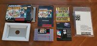 Super Mario All-Stars Super Nintendo SNES Game Box Manual Inserts CIB Complete!!