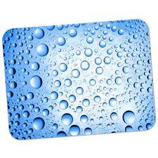 Mouse Tappetino 51 Blu Acqua Goccioline Qualità Premium Gomma Spessa Mouse Pad