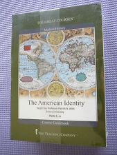 Teaching Co Great Courses CDs         THE AMERICAN IDENTITY   new + BONUS    OOP