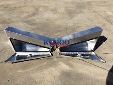 L&R Flat Aluminium Toolbox Tapered UnderTray/Body TOOLBOX 900Lx200Wx440H 4x4 4WD