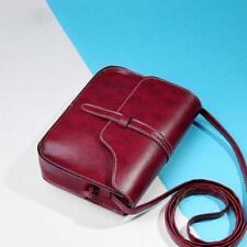 Women Vintage Purse Bag Leather Cross Body Shoulder Bag Messenger Cross Body bag