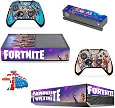 FORTNITE XBOX ONE *TEXTURED VINYL ! * PROTECTIVE SKIN DECAL WRAP STICKERS