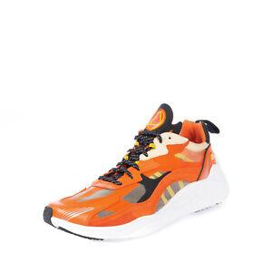 RRP €250 MCQ ALEXANDER MCQUEEN DAKU 2.0 Sneakers EU44 UK10 US11 Contrast Leather
