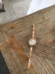Antique Rose Gold Ladies Watch