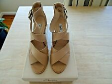 NEW - Clarks Leather Ladies Sandals Size 40 Nude