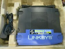 Linksys by Cisco G Wireless Router with Speed Booster Brand New in Box