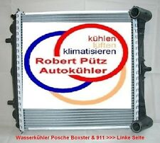 Kühler Wasserkühler für die Fahrerseite links, Porsche 911 / 996 zu 99610613151