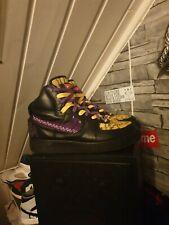 SG Customs X Nike Air Force 1 High 42 Schuhe Custom Bandana AF-1 Sneaker Jordan