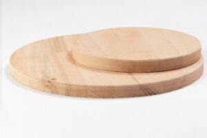 Runde Holzplatte Tischplatte Leimholz Kreis Holzzuschnitt Wunschmaß ca 19 mm