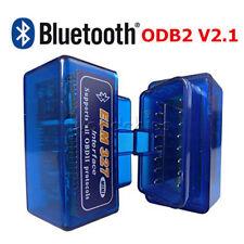 Mini ELM327 V2.1 OBD2 Bluetooth Diagnostic Car Auto Interface Car Scanner Tool