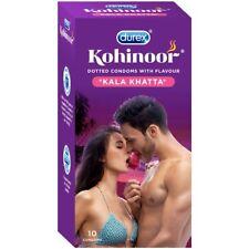 Durex Kohinoor Condoms | 10 Count | Kala Khatta | Free Shipping