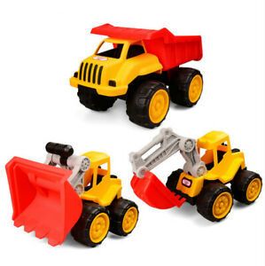 Excavator engineering vehicle fall resistant car children model toy gift