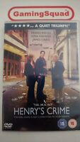 Henry's Crime DVD, Supplied by Gaming Squad Ltd