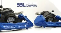 CITROEN SAXO VTR VTS 96 > 2004 PAIR OF BLUE REMANUFACTURED REAR BRAKE CALIPERS