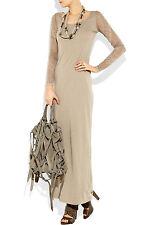 NWT £139 Designer ACNE STUDIOS Extreme Burnout Maxi Dress S/M